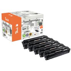 Peach Spar Pack Plus Tonermodule kompatibel zu HP No. 415A, W2030A*2, W2031A, W2032A, W2033A