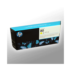 HP Druckkopf und Cleaner C4823A  80  yellow