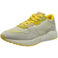 CAMEL ACTIVE Ramble Keilsneaker mit Logoschriftzug auf der Zunge gelb 39