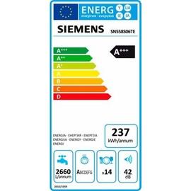 Siemens SN558S06TE iQ500 speedMatic