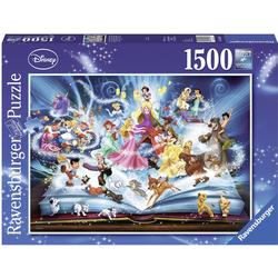 Ravensburger Puzzle Disney´s magisches Märchenbuch, 1500 Puzzleteile, Made in Germany