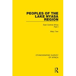 Peoples of the Lake Nyasa Region: eBook von Mary Tew