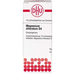 MAGNESIUM CHLORATUM D 4 Globuli 10 g
