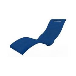 Chaise longue de jardin bleue cm 59x169x70 ARKEMA DESIGN - prodotto made in Italy CV-S010/5002