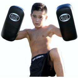 BAY-Sports Pratzen Kinder Thai Pad SM Arm-Pratze small 35 x 15 cm