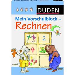 Duden Mein Vorschulblock - Rechnen 33020