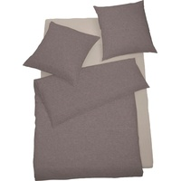 SCHLAFGUT Select Lipari nougat (155x220+80x80cm)