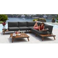 MERXX Athen Lounge-Set braun/grau