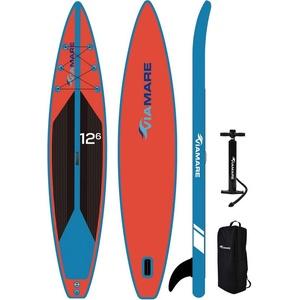 VIAMARE Inflatable SUP-Board SUP Race Board 380 blau