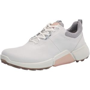 ECCO Damen Biom H9 Golfschuh, Weiß/Silber/Grau, 41 EU