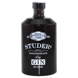 Studer´s Swiss Highland Dry Gin 42,4% vol.