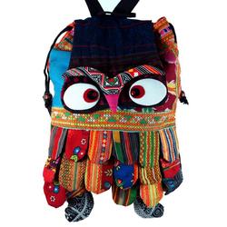 Guru-Shop Freizeitrucksack Eulentasche, Rucksack Chang Mai Eule