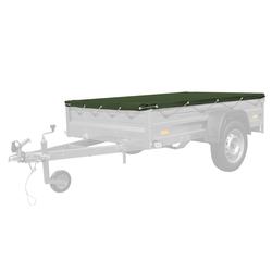 Grüne Plane für Autoanhänger Garden Trailer 205 200x125 cm