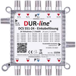 DUR-line DUR-line DCS 551-24 - preiswerte Einkabellösung SAT-Antenne