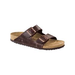 Sandale Arizona Leder schmal Birkenstock braun