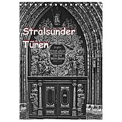 Stralsunder Türen (Tischkalender 2021 DIN A5 hoch)