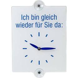 Türschild Uhr Acrylglas (B x H) 210mm x 230mm 1St.