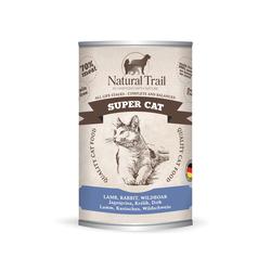 5x400g  + 400g GRATIS Natural Trail SUPER CAT  Super Premium Nassfutter für Katzen Katzenfutter