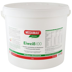 EIWEISS 100 Himbeer Quark Megamax Pulver 5000 g