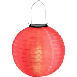 Polarlite Solar-Dekoleuchte Lampion LED 0.06W Rot