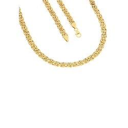 Firetti Goldkette Glanz, oval, Königskettengliederung 45