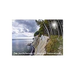 Der Hochuferweg im Jasmund Nationalpark (Wandkalender 2021 DIN A3 quer)