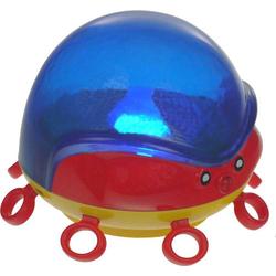 Niermann 80015 LED-Nachtlicht mit Projektor Rund Tintenfisch LED Blau, Gelb, Rot