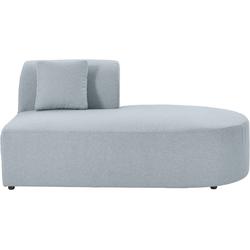 andas Sofa-Eckelement Alesund, als Einzelteile oder Modulteil blau