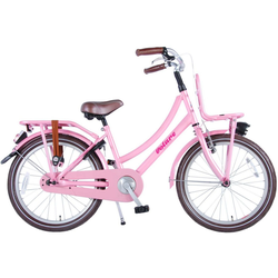 LeNoSa Kinderfahrrad Volare 20 Zoll Holland Fahrrad für Mädchen - Pink - Alter 6+, 1 Gang