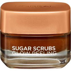 L'ORÉAL PARIS Gesichtspeeling Sugar Scrub, glättendes Peeling mit natürlichem Traubenkern-Öl