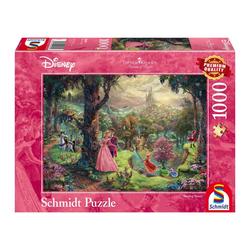 Schmidt Spiele Puzzle Disney Dornröschen Thomas Kinkade, 1000 Puzzleteile
