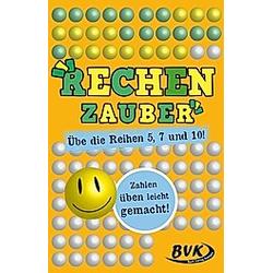 Rechenzauber - Übe die Reihen 5  7 und 10! (Kartenspiel)