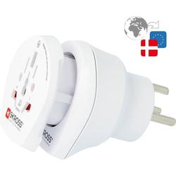 Skross 1.500214-E Reiseadapter CO W to DEN