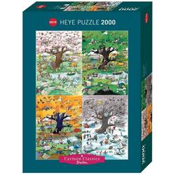 HEYE Puzzle 4 Seasons, Blachon, 2000 Puzzleteile