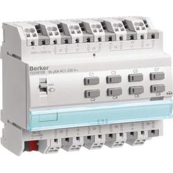 Berker KNX Jalousieaktor 8-fach 230V AC REG 75318108