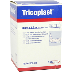 Tricoplast Pflasterbinde 8 Cmx2,5 m 2308