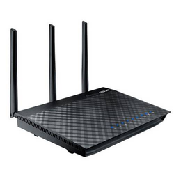ASUS RT-AC66U WIRELESS ROUTER 4-PORT SWITCH