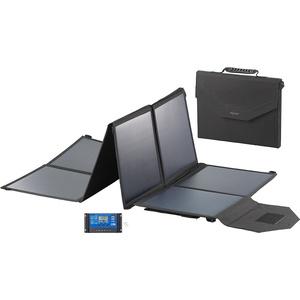 Faltbares Solarpanel, USB-Laderegler, 8 monokrist. Solarzellen, 100 W