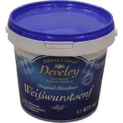 Develey Weißwurstsenf süß 875ml