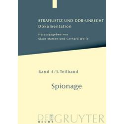Spionage: eBook von
