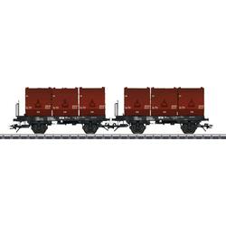 TRIX H0 24177 H0 Kohlkübeltragwagen der DB