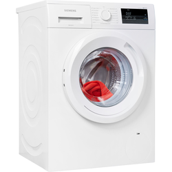 SIEMENS Waschmaschine WM14N0A2, iQ300, WM14N0A2 D (A bis G) weiß Waschmaschinen Haushaltsgeräte