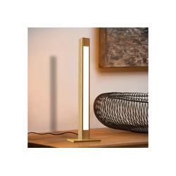 ZMH LED Tischleuchte Tischlampe Holz 47CM Dimmbar Schreibtischlampe 5W Nachttischlampe Leselampe mit Stecker
