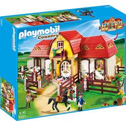 Playmobil Grosser Reiterhof mit Paddocks, Playmobil