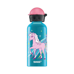 Sigg Trinkflasche Alu-Trinkflasche Cars Speed, 400 ml blau