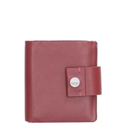 Maitre Geldbörse hochformat Leder Henau rot