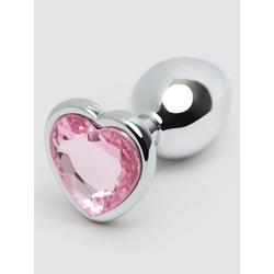 Lovehoney Analplug mit Kristallherz für Anfänger 6 cm