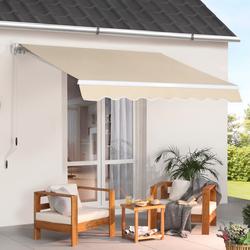 KONIFERA Gelenkarmmarkise, Breite/Ausfall: 300/250 cm beige Gelenkarm-Markisen Markisen Garten Balkon Gelenkarmmarkise