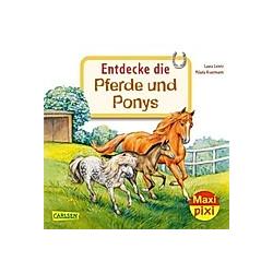 Entdecke die Pferde und Ponys. Laura Leintz  - Buch