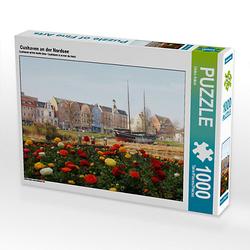 Cuxhaven an der Nordsee Lege-Größe 64 x 48 cm Foto-Puzzle Bild von Fotokunst Ulrike Adam Puzzle